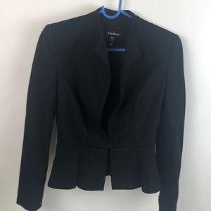 BEBE black short fitted dress jacket